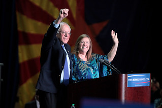 Bernie & Jane Sanders will be moving to the White House, From FlickrPhotos