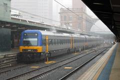 Wet Endeavour 6-Pack (jamesmp) Tags: train n australia newsouthwales multiple cityrail intercitytrain sydneyterminal railcorp traindiesel nswtrains setendeavourdiesel unitadtranzregional