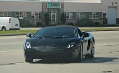 Lamborghini Gallardo LP560-4 Spyder (RudeDude2140a) Tags: black sports car convertible spyder exotic lamborghini supercar gallardo lp5604