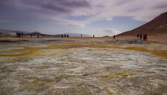Sulphur Fields (the CAMera of ian CAMpbell; simple) Tags: mountain canon volcano iceland horizon sulphur volcanic camcam