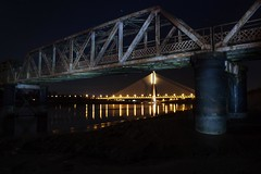 Framed (Keith_Ryan) Tags: bridge ireland light night star long exposure waterford munster