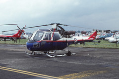 Scout AH.1 (Pentakrom) Tags: school test scout 1993 empire westland pilot fairford iat epts xp849