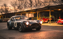 Cobra. (Alex Penfold) Tags: sunset classic alex grey cobra meeting ac supercar goodwood members supercars penfold 2016 74th 74mm