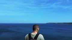 Subconscious (sefaylcnky) Tags: sea man istanbul straits bosphorus subconscious