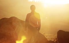 (felix.h) Tags: canoneos400d canon eos 400d tokina5013528 tokina50135mm28 digitalrebelxti eoskissdigitalx portrait portraiture backlight backlighting lensflare yellow newzealand otago otagopeninsula dunedin evening summer dreamlike
