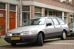 1991 Ford Sierra Kombi 2.0i CLX (rvandermaar) Tags: 1991 ford sierra kombi 20i clx fordsierra fordsierrawagon wagon stationwagon estate sidecode4 zd32vz turnier fordsierraturnier rvdm