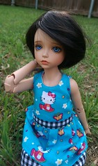 Lonnie (bluepita) Tags: hello b black face up ball asian real kid doll natural skin kitty special tiny bjd 16 rs lonnie abjd srs lapis ih ip jointed leeke yosd iplehouse safrin safrindoll lr093