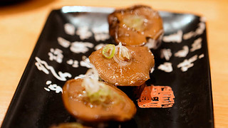 Off the Menu: Shiitake Mushroom Sushi w/ Truffle Honey