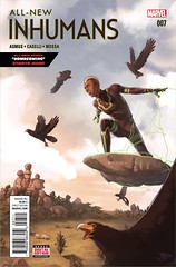 EXCLUSIVE PREVIEW: All-New Inhumans #7 (All-Comic.com) Tags: marvel preview inhumans stefanocaselli jamesasmus exclusivepreview worshipcomics allcomic allnewinhumans andresmossa