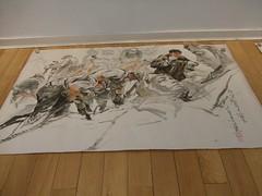 North Korean paintings, London (mtrank) Tags: london art painting paintings northkorea dprk northkorean