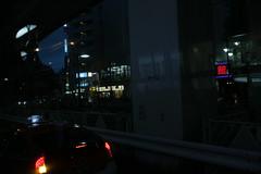 street (sogni_hal) Tags: street city bus night tokyo town traffic shibuya route vehicle nightscene sangenjaya