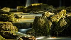 Morning light (aj_nicolson) Tags: longexposure morning green water morninglight waterfall rocks stream appicoftheweek