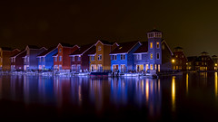 Houses at Reitdiephaven Groningen (leonm84photography) Tags: houses house reflection water netherlands colors skyline night reflections mirror nikon flickr colours waterfront nacht harbour nederland explore groningen tamron hdr highdynamicrange reitdiep kleuren recommended tamron1750mmf28 reitdiephaven nikond5200