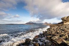 The Cuillin Hills from Elgol (mjw...) Tags: ocean uk winter sea sky snow mountains beach clouds canon scotland is rocks isleofskye innerhebrides hills usm ef cuillinhills elgol 1635mm f4l canoneos5dsr