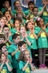 2016-04-07 (34) Fred D ES 2nd grade show (How Does Your Garden Grow) afternoon (JLeeFleenor) Tags: kids youth photography virginia kid photos performance victoria indoors va elementaryschool inside leesburg 2ndgrade frederickdouglass loudouncounty youthactivities