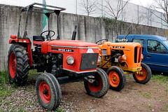 Vecchi trattori (Falippo) Tags: tractor fiat farm oldtimer farmequipment trattore oldtractor zetor fattoria trattori tractoren
