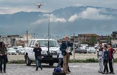 Drone-Flying: 'Maras Refugee Camp (jonny hogg) Tags: turkey refugees un unitednations syria humanitarian wfp drone euronews