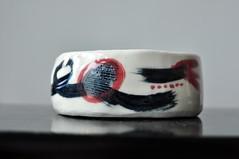 DSC_9718 (joone!) Tags: ceramics pottery handbuilt handpainted handmade bowl porcelain handbuild