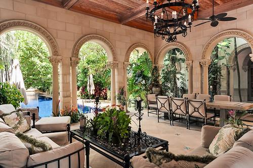 Вилла Casa Bendita в Палм-Бич, Флорида