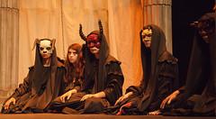 Coro (DivesGallaecia) Tags: teatro tragedy esquilo coro tragedia aeschylus eumenides eumnides traxedia seecgalicia erinias