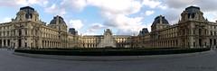 Piramide Louvre (Marco Di Ferrante) Tags: panorama paris landscape louvre parigi piramide contrasto