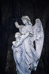 Crippled by Mankind (Peter Kurdulija) Tags: new newzealand broken cemetery statue angel geotagged town peace zealand violence spiritual symbolic wanganui nzl manawatu dannevirke kurdulija manawatuwanganui geo:lat=4020530530 geo:lon=17610031580