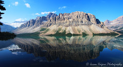 Crowfoot Reflection (explored) (jhagani13) Tags: blue canada reflection nature water canon glacier explore alberta banff canonrebel banffnationalpark crowfoot canonphotography amateurphotography jasonhagani jasonhaganiphotography