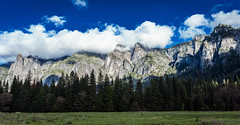Clouds & Mountains (Maxinux40k) Tags: california trees sky usa mountain mountains nature clouds landscape nationalpark spring nikon outdoor yosemite april mountainside nikkor 2016 d810 mitchellcipriano afs24mmf18g