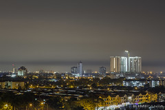 IMG_1194 A (KIMI KANTA) Tags: auto lighting longexposure nightphotography panorama white building night canon lens 50mm iso100 scenery asia slow hometown malaysia shutter balance nightview penang dslr scape lighttrail f13 141sc shipest