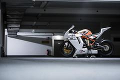 Ready to Race (bjoern.gramm) Tags: orange garage bridgestone ktm motorcycle superbike motorrad racebike actionteam rc8