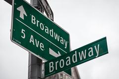 Broadway & 5th Avenue (Steven J Parkes) Tags: nyc newyorkcity urban newyork manhattan streetsign broadway 5thavenue nycstreet flatirondistrict