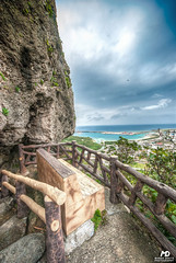 Bench (Marek Dekys) Tags: travel light sun color art colors japan landscape photography design photo high nikon day view dynamic arts picture sigma sharp okinawa d200 exploration range hdr kyushu dx yonaguni 2016 816 jaejama