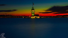 In Motion (BeNowMeHere) Tags: longexposure trip travel sunset sky seascape nature colors clouds turkey landscape amazing cityscape nightscape magic istanbul colourful panaromic inmotion galata maidenstower galatatower 500px ifttt