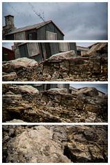 Three Storey Hut (don't count the pixels) Tags: portland dorset portlandbill multilens analogueefexpro