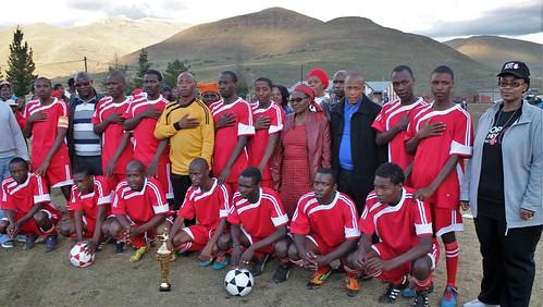 Mantšonyane Soccer Tournament - Lesotho
