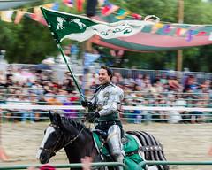 Green Knight (Kevin MG) Tags: ca costumes horse usa man losangeles action event knights faire recreation renfaire joust renaissance renaissancefaire irwindale socalrenfaire