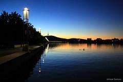 Twilight on the lake (juliane.samara) Tags: black mountainlake burlley griffintwilight