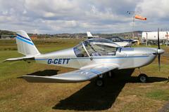 G-CETT (GH@BHD) Tags: eurostar aircraft aviation microlight ev97 ulsterflyingclub newtownardsairfield evektoraerotechnik evektor teameurostar gcett