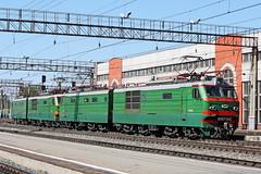 VL10K-340 (zauralec) Tags: park station p 340   kurgan   rzd  vl10k 10 vl10k340 10340
