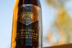 Sanctum Too Big To Fail Ale (jaketalamantes) Tags: beer prime minolta sony ale bourbon craftbeer sonyalpha minolta50mmf17 minoltaaf50mm craftbeerporn craftnotcrap craftcascade