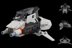 Light Assault Drone (General JJ) Tags: orange wow lego cul whoa wowee minifigure funfunfun meatbag legoz laygoez eclipsegrafx zacross droneuary
