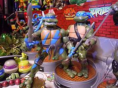 """Nickelodeon """"HISTORY OF TEENAGE MUTANT NINJA TURTLES"""" FEATURING LEONARDO -  TMNT 2k3 LEONARDO vi / ..with MYSTIC FURY LEO '05  (( 2015 )) (tOkKa) Tags: nickelodeon tmnt toontmnt toonleo 1993 teenagemutantninjaturtles historyofteenagemutantninjaturtlesfeaturingleonardo toys figures leonardo 2015 displaystand playmatestoys toysrus toysrusexclusive varnerstudios moviestartmnt ninjaturtlesthenextmutation 4kidstmnt tmnt2003 tmntmovie4 paramountsteenagemutantninjaturtles 2007 1992 1988 2006 2005 2014 2012 tmntfastforward paramountteenagemutantninjaturtles tmnt2014movie eastmanandlairdsteenagemutantninjaturtles comic turtlemilkstudios davearshawsky fastforwardleonardo imagesrctokkaterrible2zcom"""