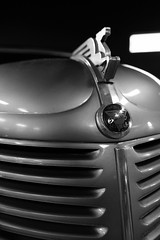 Amilcar Compound (Ron Buening) Tags: auto blackandwhite bw detail car closeup compound automobile transport grill ornament transportation hood grille hoodornament amilcar