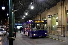 Glasgow Citybus BU05HFK (busmanscotland) Tags: west station coast pointer glasgow ad scotrail motors service alexander dennis dart connector citybus slf hfk abellio bu05 bu05hfk