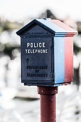 Call The Police (kevinwmurray) Tags: sanfrancisco urban san francisco telephone police processed