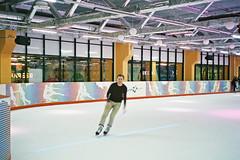 Ice Skating (adam sharp) Tags: film 35mm stpetersburg photography russia iceskating olympus skate fujifilm saintpetersburg superia400 mjuii stp filmphotography россия mju2 fujifilmsuperia μmjuii санктпетербу́рг mazapark