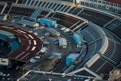 Aerial view of Tsukiji Market () (christinayan01) Tags: japan architecture tokyo market tsukiji