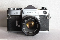 Yashica J-3 (dcsides) Tags: auto yashica j3 yashinon 5cmf2