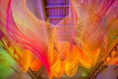 """1.8"" by Janet Echelman (dailysnapper) Tags: art colors museum rainbow renwickgallery wonderexhibition"