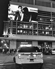 Drive in movie? (IamJomo) Tags: blackandwhite bw apple monochrome washingtondc iphone jomo verizoncenter takenwithaniphone iphoneography iphone6 snapseed smallworldphotos jomophoto